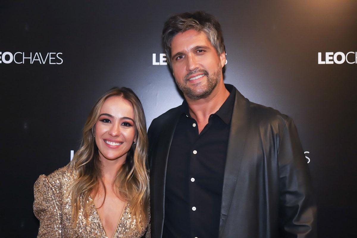 Leo Chaves e sua namorada, Carolina Figueira