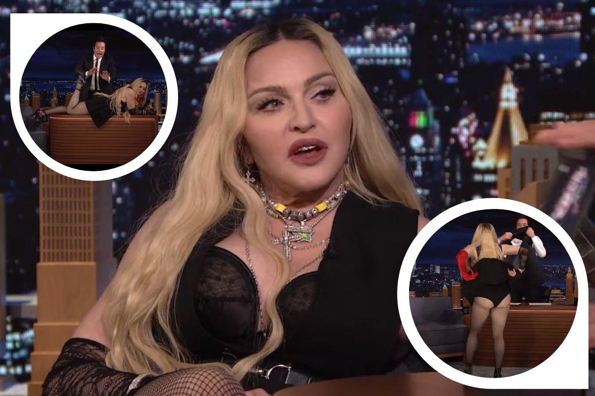 Madonna causa em entrevista com Jimmy Fallon