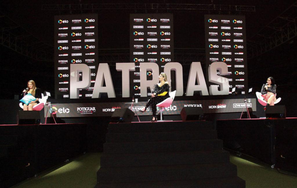 Live sobre a turnê 'Festival das Patroas'