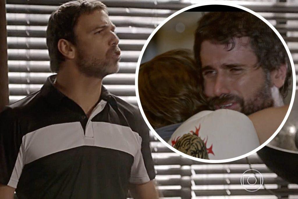Malhação : Lobão (Marcelo Faria) quer impedir Gael (Eriberto Leão) de se aproximar de Karina (Isabella Santoni)