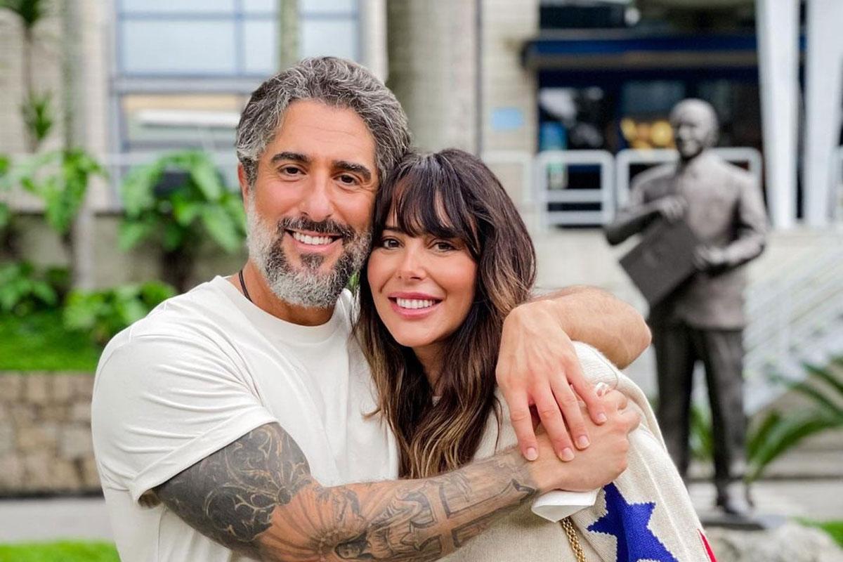 Retrato Marcos Mion e Suzana Gullo