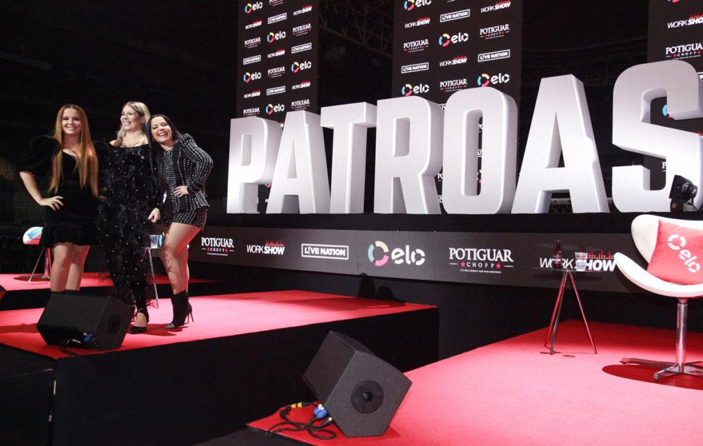Live coletiva sobre a turnê 'Festival das Patroas'
