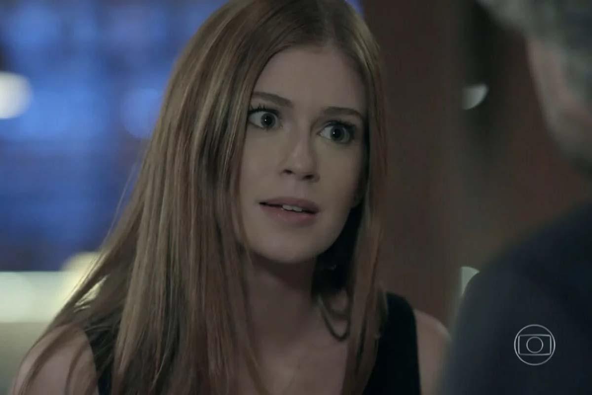Marina Ruy Barbosa, como Maria Ísis, em Império