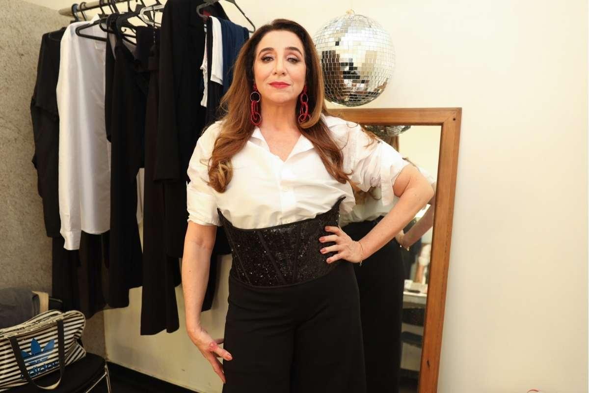 Marisa Orth na estreia de Barbara