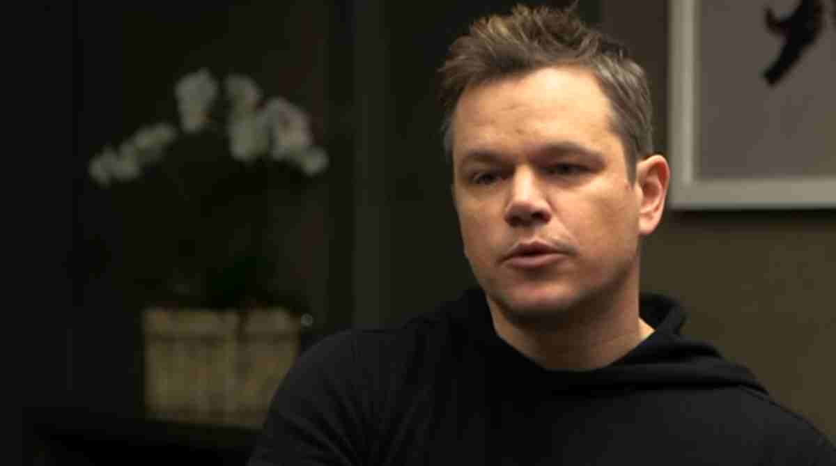Matt Damon, print entrevista