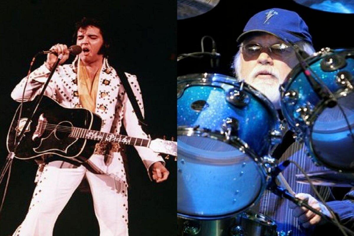 Morre Ronnie Tutt, o antigo baterista de Elvis Presley