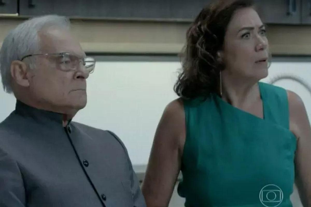 Othon Bastos e Lília Cabral em Império
