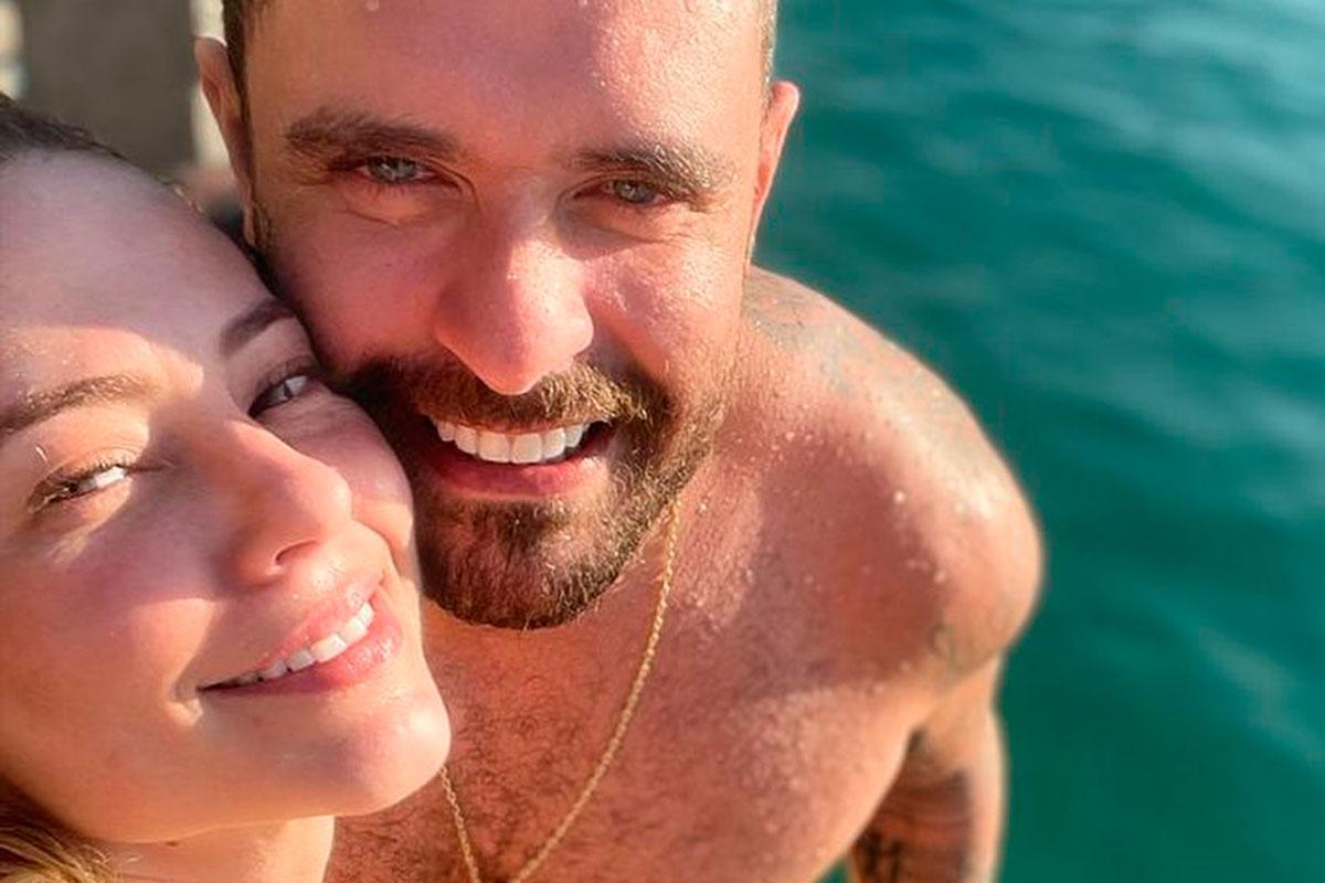 Retrato Paolla Oliveira e Diogo Nogueira