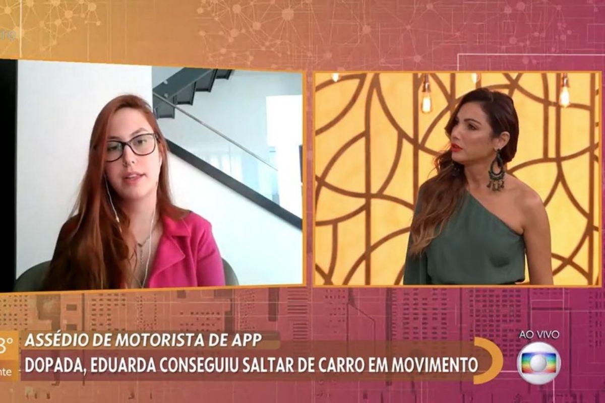 Patricia Poeta fala sobre tentativa de assédio