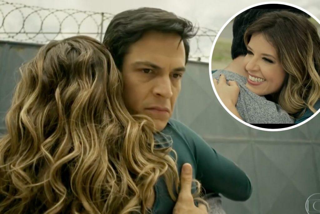 Pega Pega: Maria Pia (Mariana Santos) vai ao encontro de Eric (Mateus Solano) na saída da prisão -