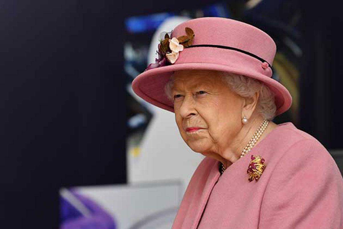 Retrato Rainha Elizabeth