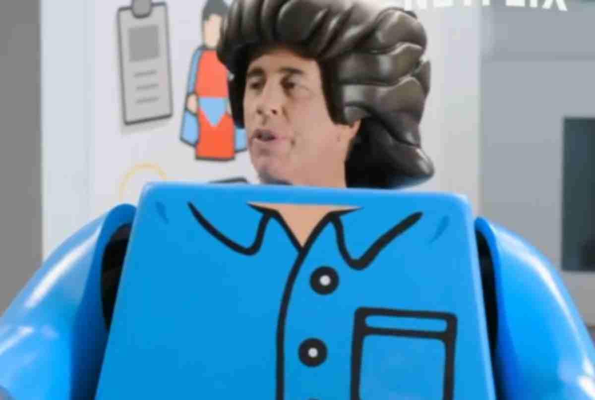Jerry Seinfeld em versão Lego