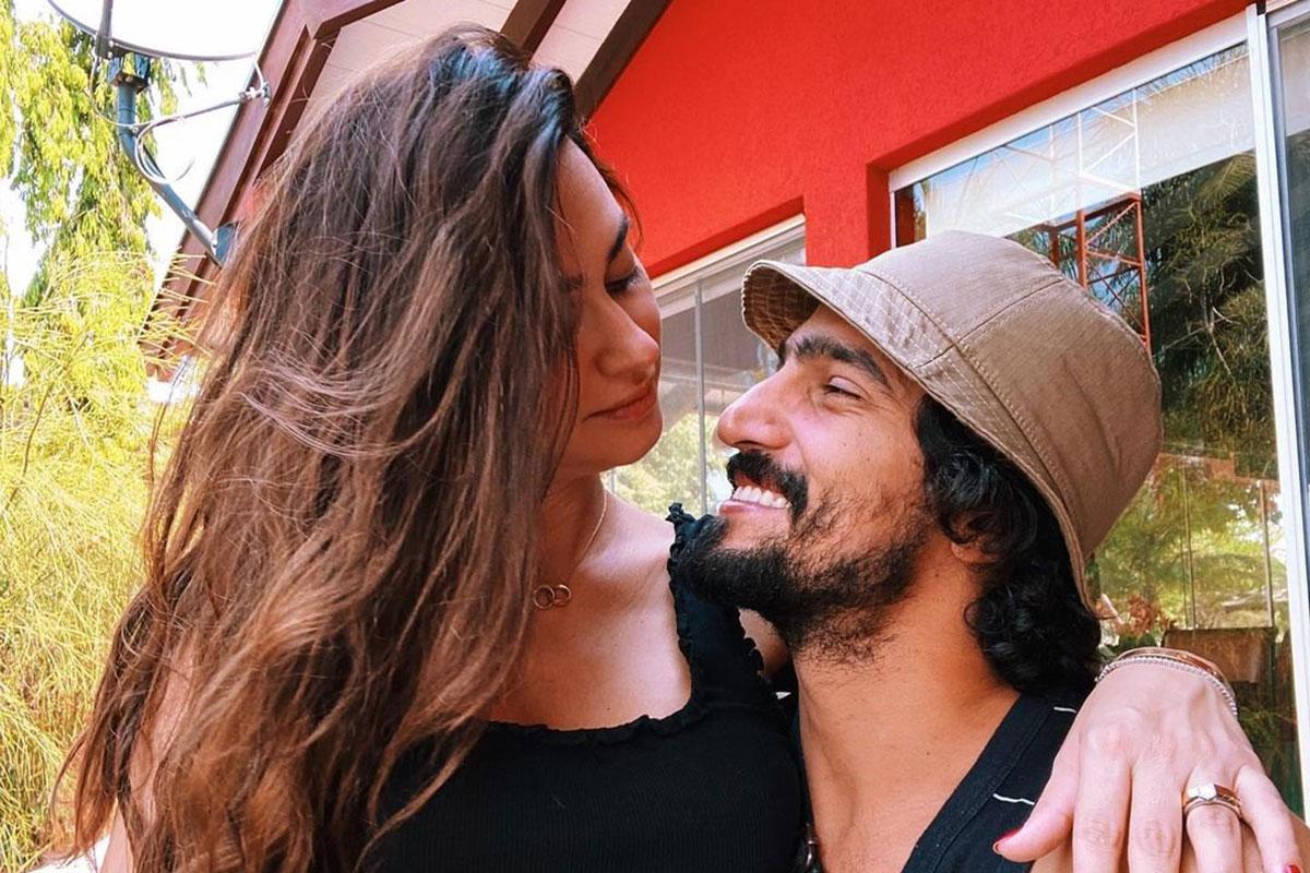 Retrato Thaila Ayala e Renato Góes