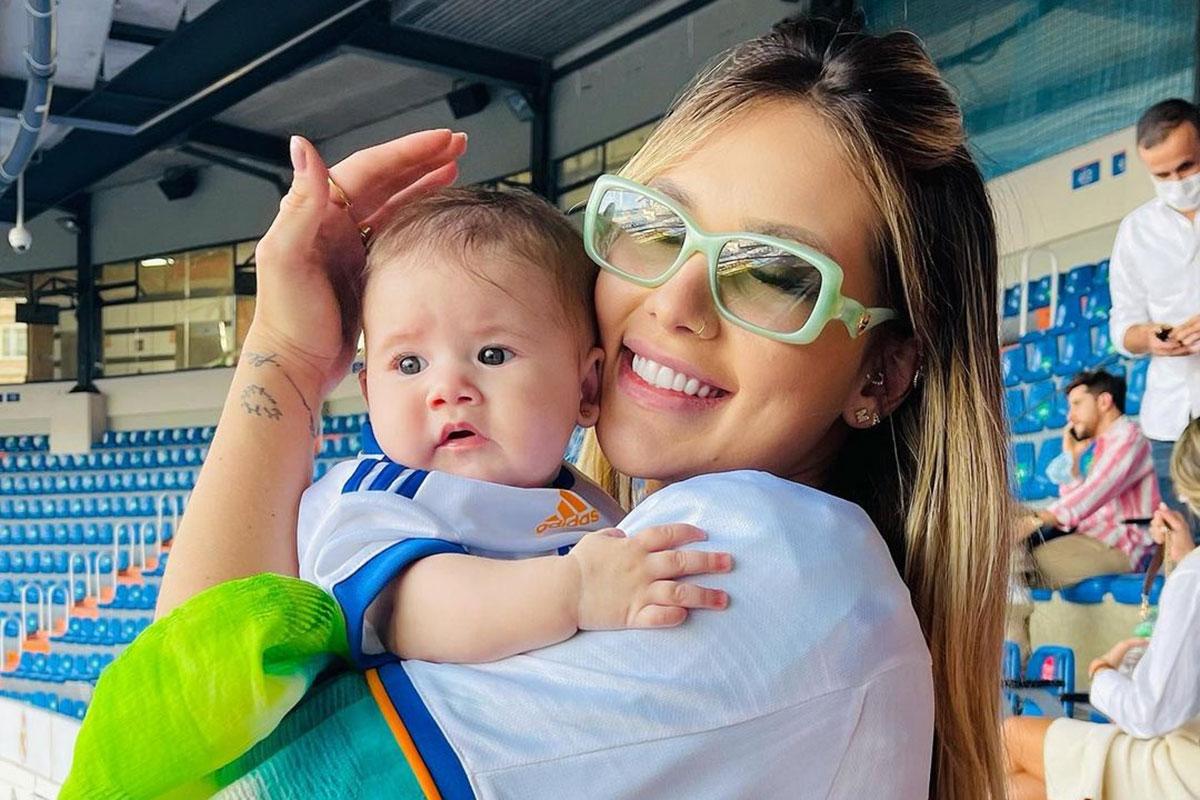 Virgínia Fonseca com a filha Maria Alice