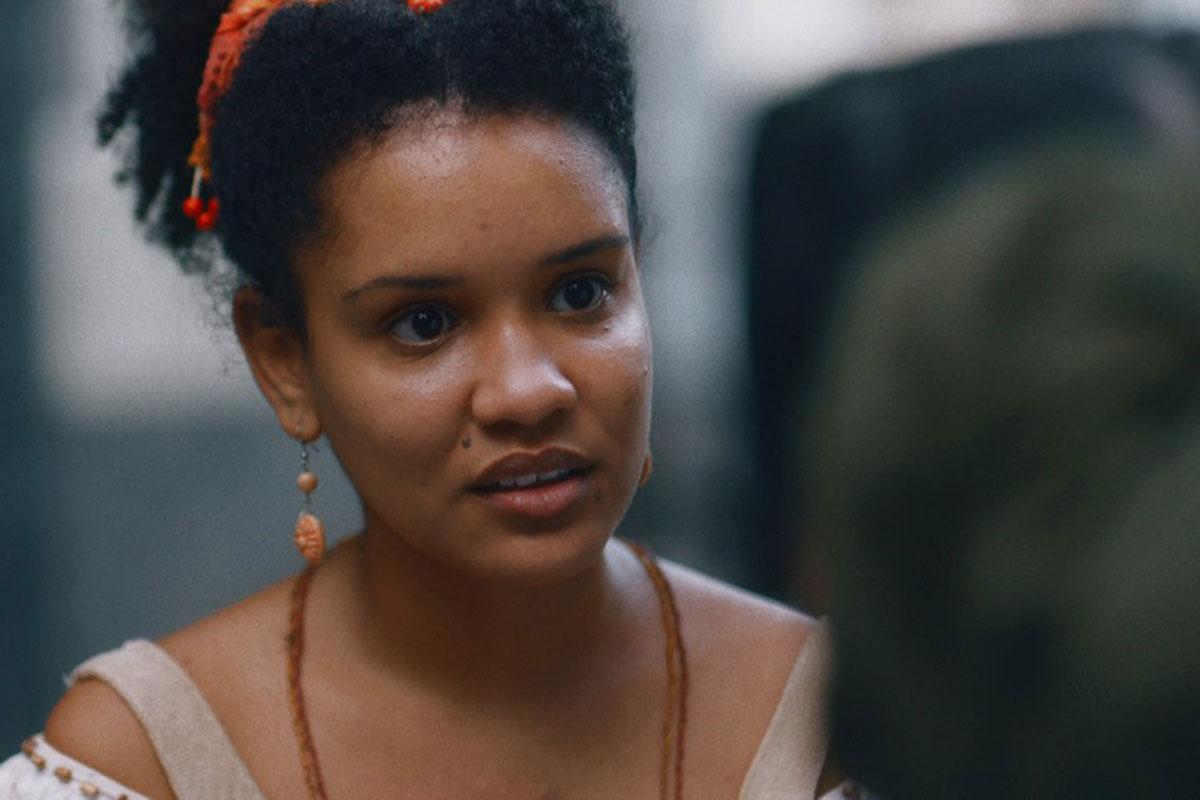 Zayla (Heslaine Vieira) em Nos Tempos do Imperador